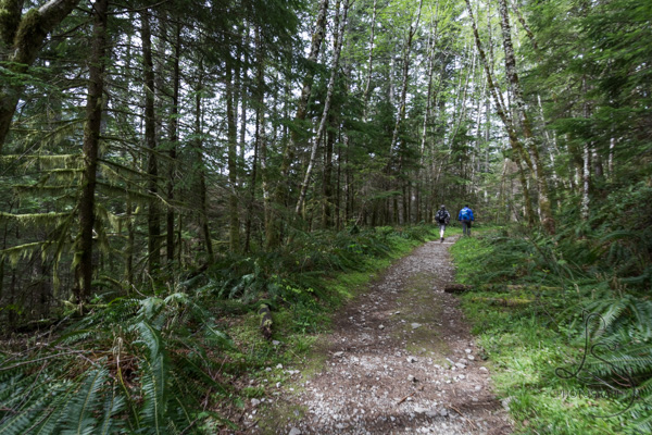 Hikers on the well-trodden trail | LotsaSmiles Photography