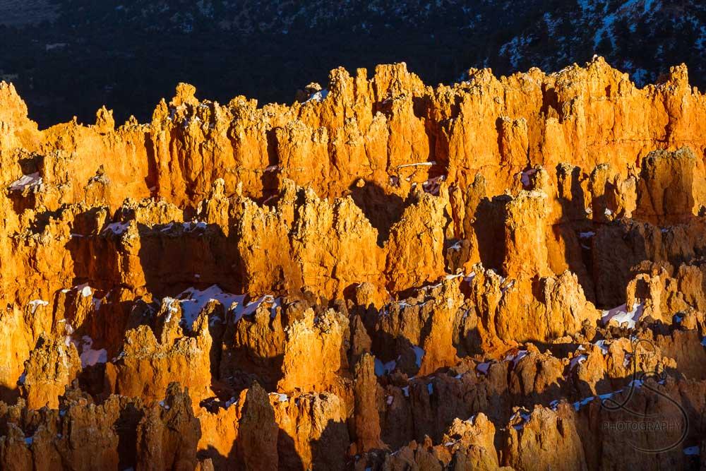 Bryce Canyon hoodoos at sunset   LotsaSmiles Photography